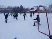 В Новоомском прошёл чемпионат  района по мини-футболу на снегу